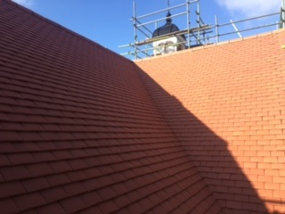 pitched roof build