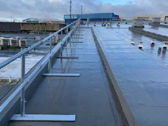 Flat Roofing Project at Luton Airport