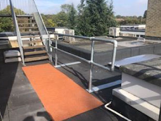 Hospital flat Roofing
