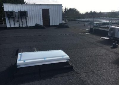 NHS Flat Roofing Contractor at Cambridge Blood Centre