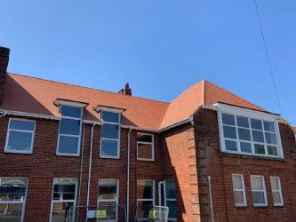 Specialist school roofing contractor