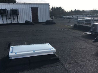 NHS Flat roofing contractor,