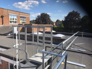 Roofing specialists for schools at Grange Park