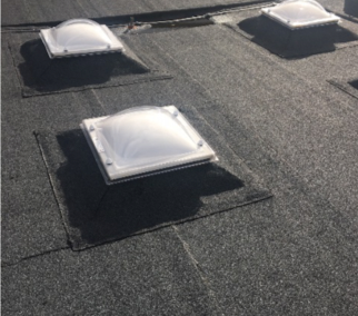 Roofing contractor for schools at Somers Heath