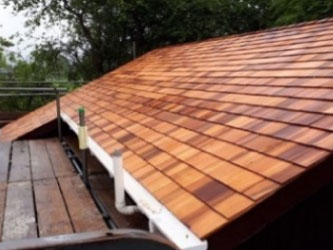 Pitched roof replacement for British Telecom