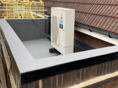 flat roof maintenance after