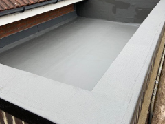 after  roof maintenance