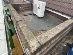 flat roof maintenance before