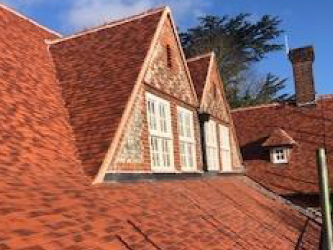 School pitched roofing project