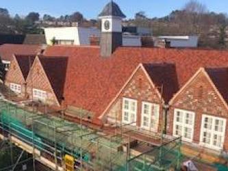 School Roofing Services Contractor at Sir William Borlases Grammar School